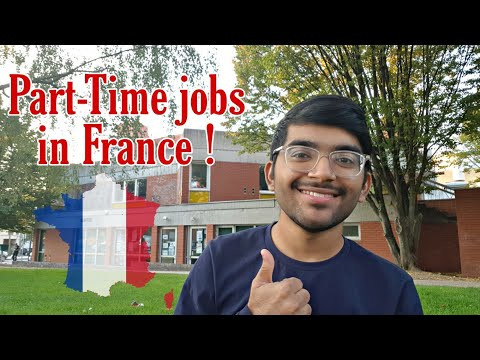 Part-Time Jobs In Paris |  Part Time Jobs In France | Indian Student Vlog |
