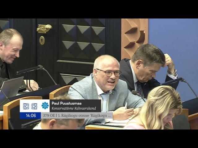 Riigikogu istung, 15. september 2021
