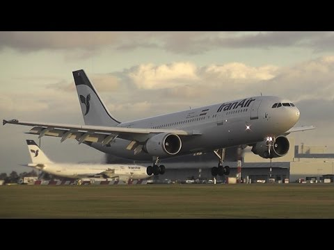 IRAN AIR landings