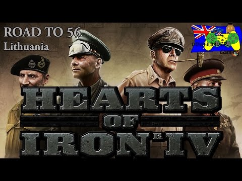 HOI4 Road to 56 - Lithuania One-off - New Tech, Focuses, Ideas