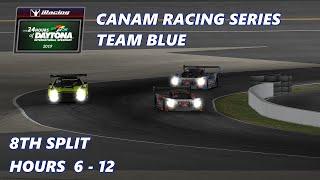 Team Blue CanAm Racing Series Daytona 24 Stream HR 6-12