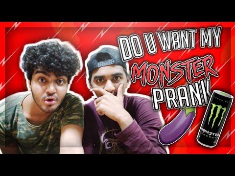 Mera Monster loge kya?? (Prank in India)