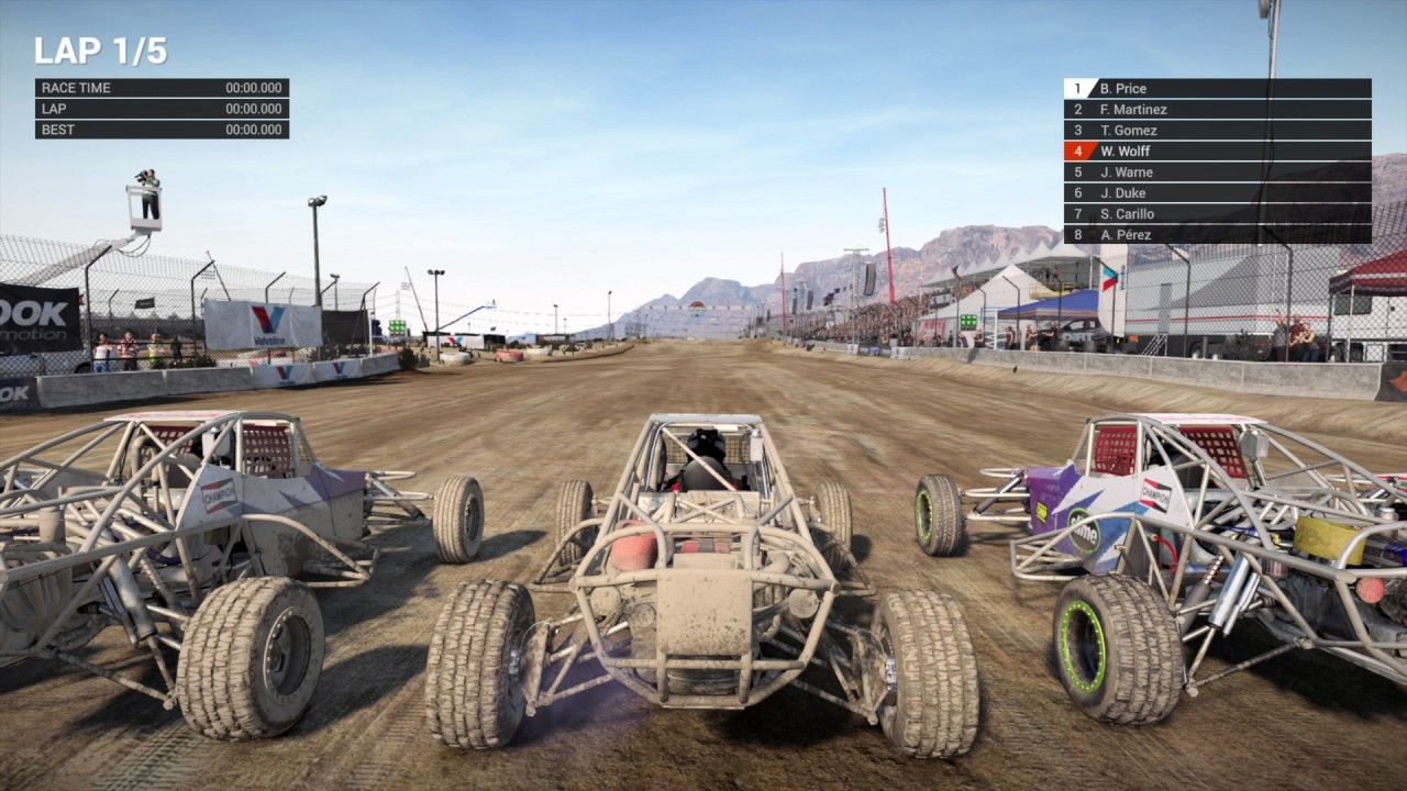 dirt 4 ps4 pro land rush nevada usa buggy challenge. Black Bedroom Furniture Sets. Home Design Ideas