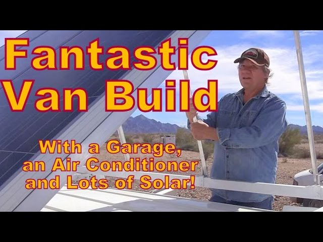 fantastic-van-build-with-a-garage-air-conditioning-and-lots-of-solar