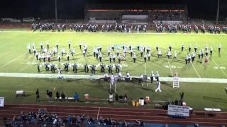 bayside marching band at sebastian river high school 9 13 2013