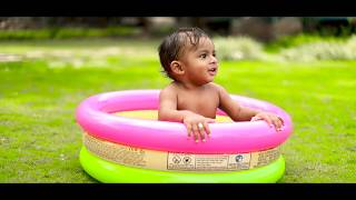 Toshan | Kannana Kanne song | Baby outdoor video