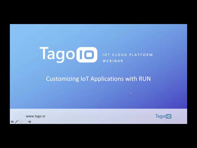 Customizing IoT Applications with RUN
