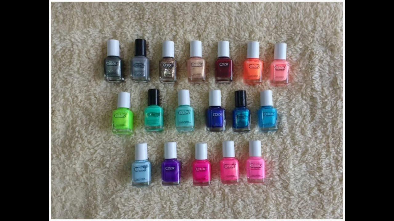 Mini Color Club - Nail Lacquer - YouTube