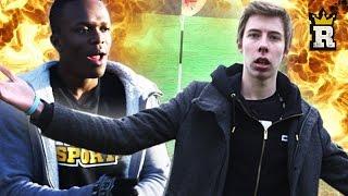 KSI vs. Calfreezy: FootGolf | Rule'm Sports