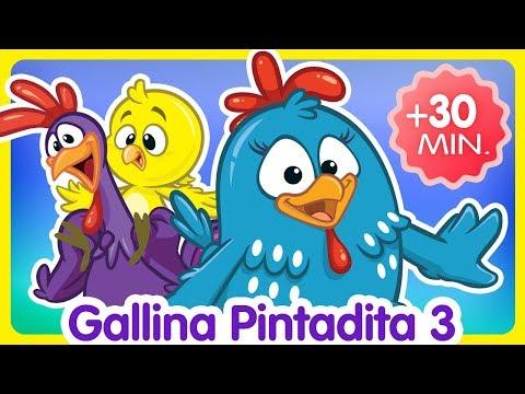 Compilado de Clips 30 min. - Oficial - Canciones infantiles de la Gallina Pintadita