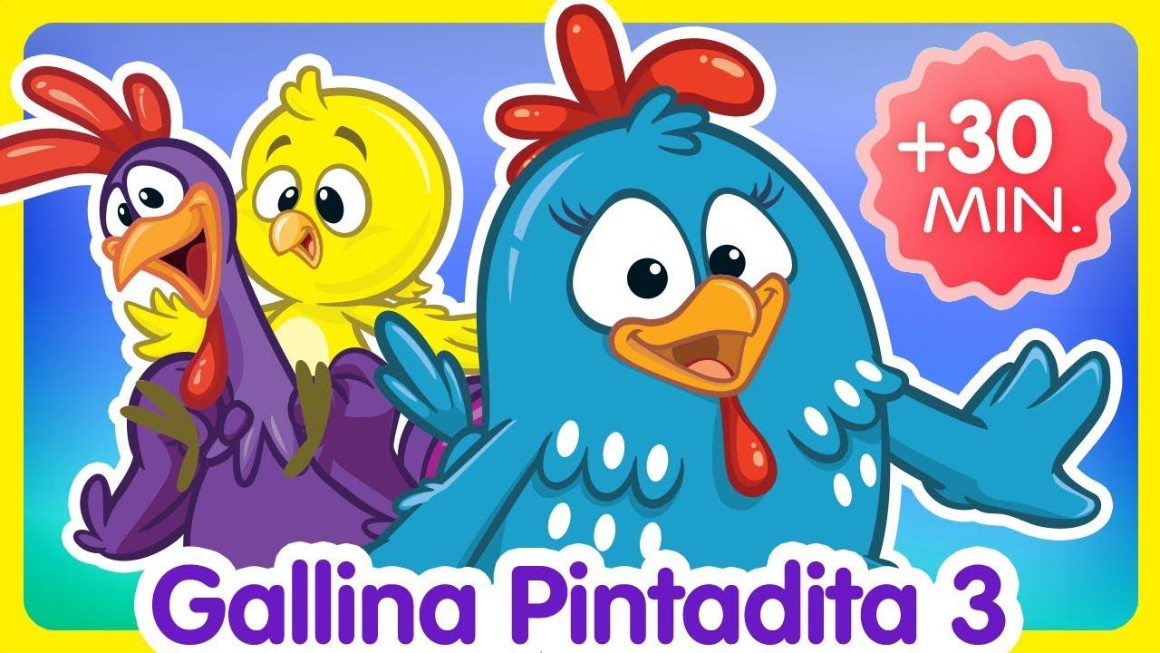 Ver Compilado de Clips 30 min. – Oficial – Canciones infantiles de la Gallina Pintadita en Español