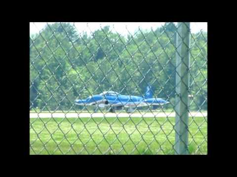 Mako Shark Jet from Air Show Take Off & Landing Ontario