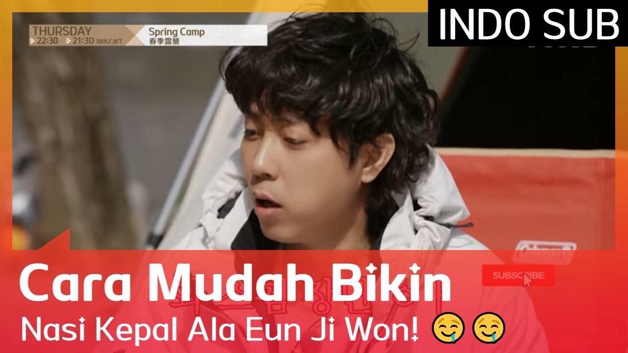 Cara Mudah Bikin Nasi Kepal Ala Eun Ji Won! 🤤🤤 #SpringCamp 🇮🇩INDO SUB🇮🇩