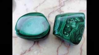 видео Малахит камень, свойства и украшения из малахита