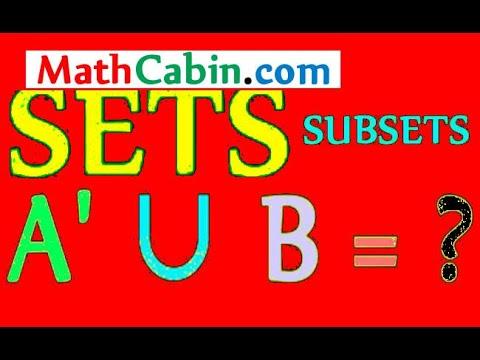 Venn Diagram Sets Subsets Example Probability Math Problems