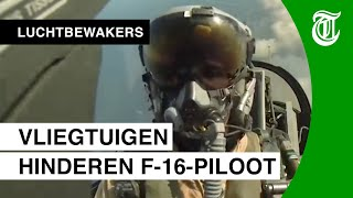 F-16 pilot disturbed by airplanes - GUARDIANS OF THE SKY #02