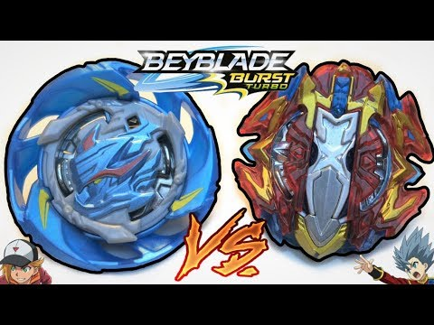 Air Knight K4 vs Xcalius X4 | Beyblade Burst Turbo