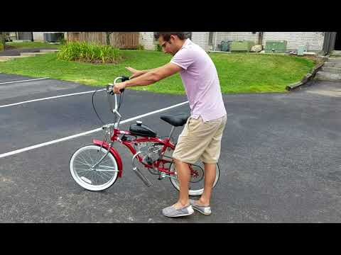 Lowrider Motorized Bicycle Gas Powered For Sale From SaferWholesale.com