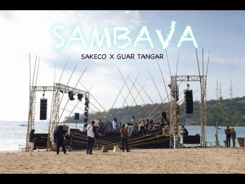 Sambava Live at Senggigi Sunset Jazz 2017  - Medley Sakeco, Kemang Lala, Guar Tangar