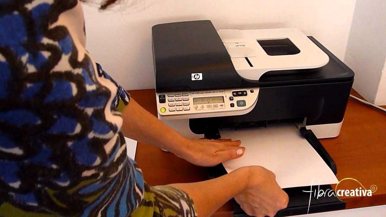 Tutorial imprimir sobre tela en casa youtube - Como doblar servilletas de tela ...