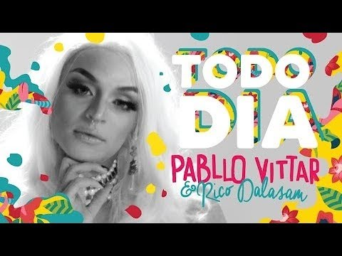 Pabllo Vittar- Todo Dia (feat  Rico Dalasam) (Audio Oficial)
