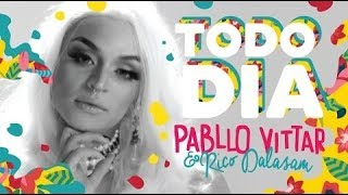 Pabllo Vittar- Todo Dia (feat  Rico Dalasam) (Audio Oficial) thumbnail