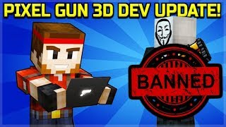 NEWS FROM DEVELOPERS! - CAMPAIGN WORLD 4 IS 95% COMPLETE, CHEATERS & HACKERS BAN | Pixel Gun 3D