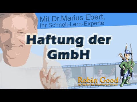 GmbH, Haftung