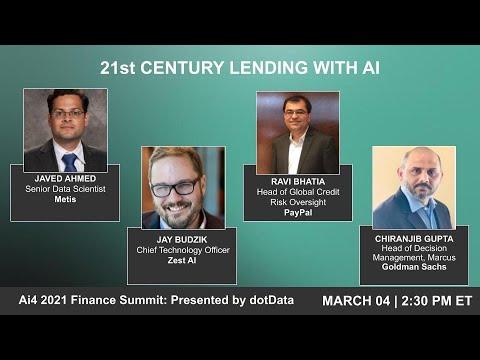 Panel: 21st Century Lending With AI