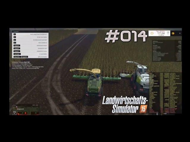 Let's Play Landwirtschafts Simulator 2015 | Zu dritt am Häckseln | Folge #014