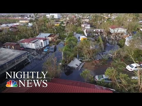 Maria: Authorities Say Much Of Puerto Rico Remains Unreachable | NBC Nightly News