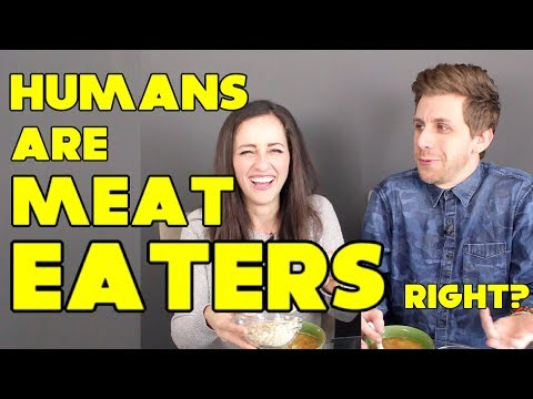 Are Humans Designed to Eat Meat? | Mukbang