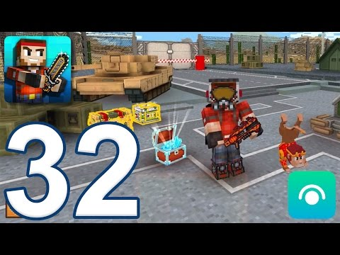 Pixel Gun 3D - Gameplay Walkthrough Part 32 - Crafting, Lobby (iOS, Android)