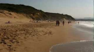Surf Bidart vicino Biarritz Agosto 2012.MOV