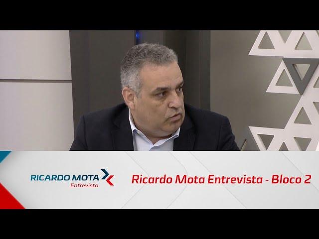 Ricardo Mota Entrevista - Bloco 2