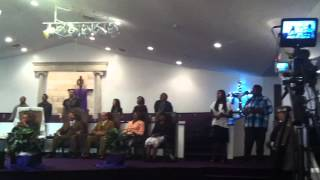 "Heart of God Ministries Youth Choir 9/22/13 singing ""The storm is over now"""