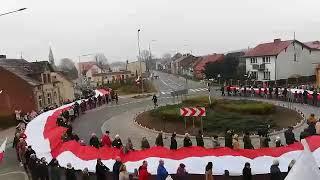 Narodowe Święto Niepodległości w Rzeczenicy 11 listopada 2018 r.