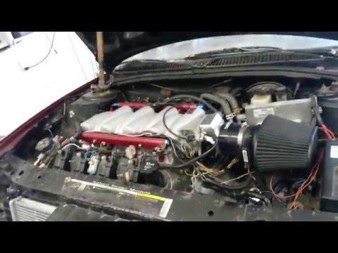 LS4 V8 Swap Saturn Cold Start and Walk-around