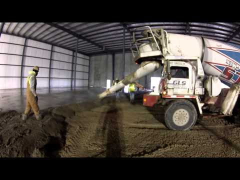 Jostin Construction at Work at Planes Moving & Storage Warehouse in Indianapolis 12/2/2014