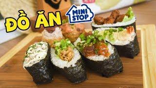 ĂN THỬ ĐỒ ĂN Ở Mini Stop (Oops Banana)
