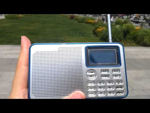 Shortwave radio reception at Gwanghwamun Square, Seoul, Korea : 9595khz Radio Nikkei 1