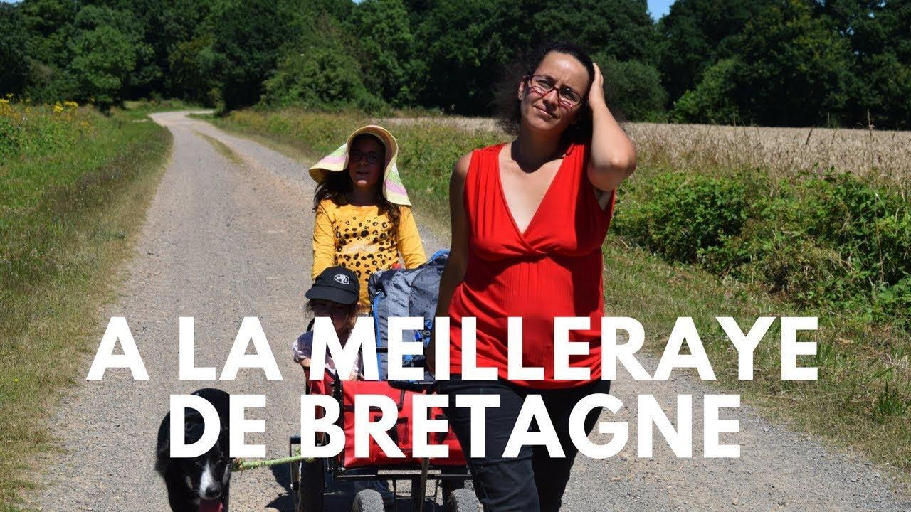Sur le sentier de randonnée de la Meilleraye de Bretagne en Loire Atlantique