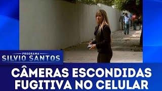Fugitiva no Celular   Câmeras Escondidas (30/12/18)