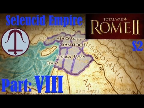 Let's play Rome II Total War S2 - part 8 - Taking down Egypt and Cyprus
