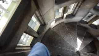 Descending the tower. Oct.14 2012.