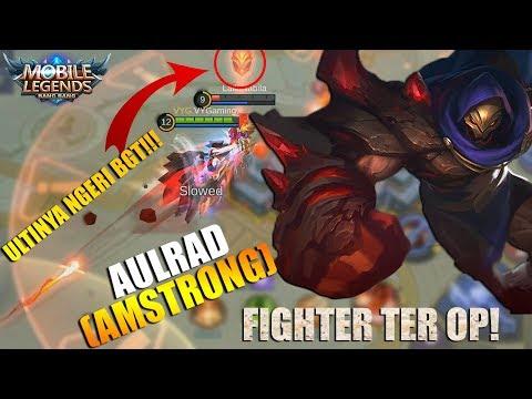 NEW HERO AULRAD (ARMSTRONG) - HERO FIGHTER TER OP!!!ULTINYA NGERI BGT BISA LOCK MUSUH SAMPAI KE BASE