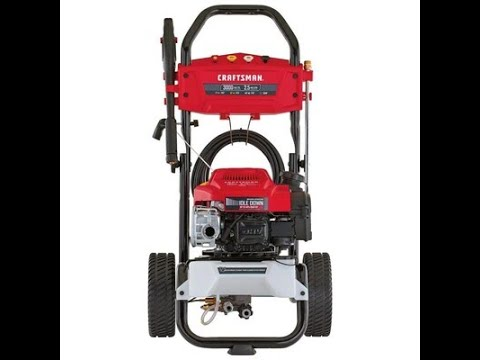 Craftsman Cmxgwas020734 3000psi 2 5 Gpm Pressure Washer Unboxing How To Assemble Step By Step Easy Youtube