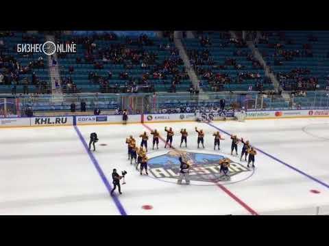 Команда Востока станцевала на Матче звёзд ЖХЛ
