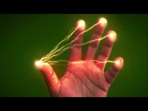 After Effects tutorial | Lightning between fingers | hollywood using effect