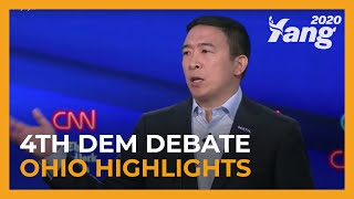 Andrew Yang Shaped the Ohio #DemDebate